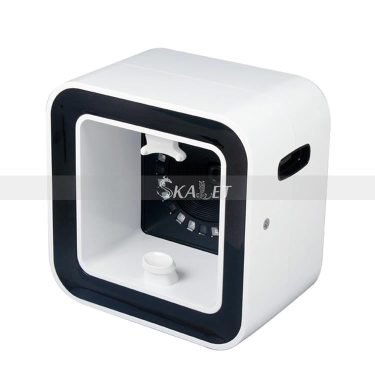 سعر المصنع الدقة مربع مرآة محلل لبشرة الوجه الرقمية نظام التحليل للعناية بالبشرة لصالون تجميل