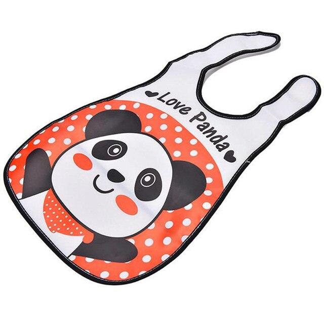 4pc/Lot Baby Bibs Waterproof Cartoon Children Burp Cloths Kids Towel Accessories 10