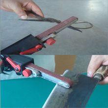 Bricolage ponçage à bande ponceuse adaptateur Bandfile ponceuse à bande 100mm 4
