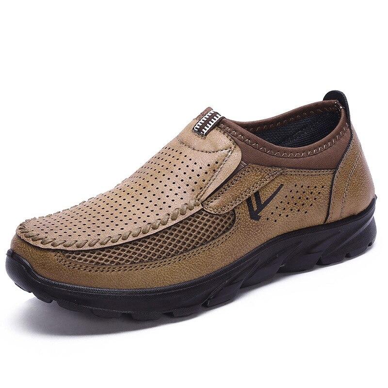 Rendas até Sapatos Masculinos de Couro Casual Andando Barco Sapatos Mocassins Apartamentos Masculinos Marca Luxo Venda Quente Moda 219