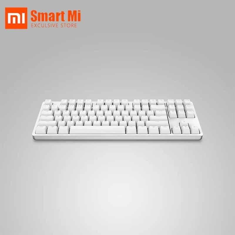 Xiaomi YUEMI YM Mechanische Tastatur 87 Zweite Generation TTC Mechanische Rot Welle Aluminium Legierung Körper Aktualisieren Rate Bis Zu 1000HZ