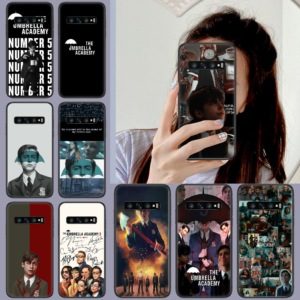 The Umbrella Academy Phone Case Cover Hull For Samsung Galaxy S 6 7 8 9 10 e 20 edge uitra Note 8 9