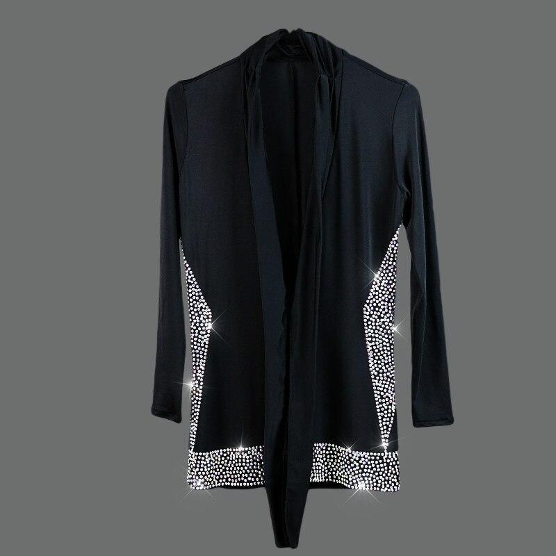 Homme/garçon danse latine robe chemise haute qualité velours diamant homme Vestido De Baile Latino Dancewear Samba/valse/salle De bal hauts