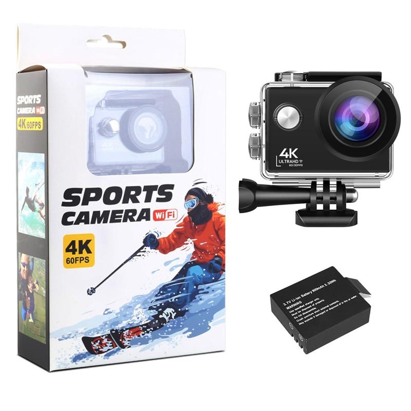 24MP Wifi Action Camera Ultra HD 4K 60fps 2.0'' IPS Screen Sport Camera Go Waterproof Pro Sports DV 170 Wide Angel Helmet Camera enlarge