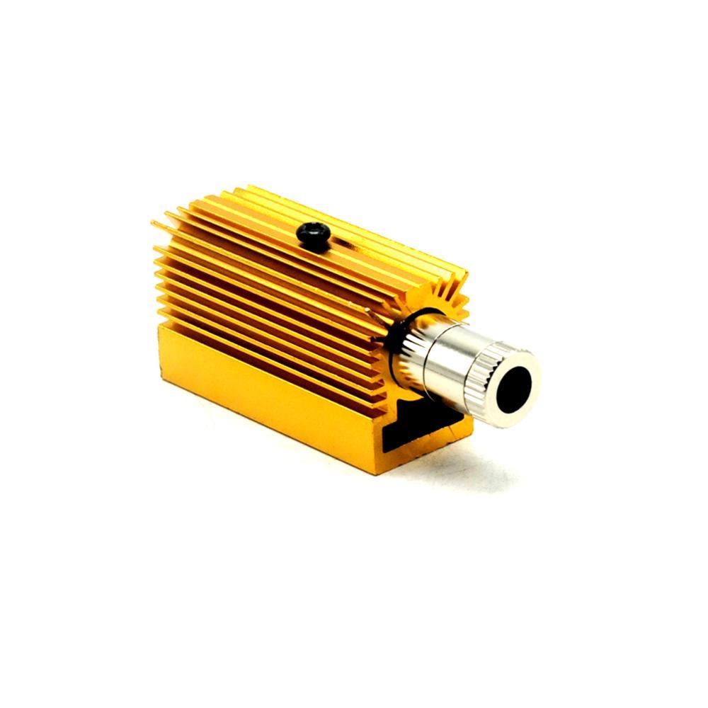 1 Juego láser 12mm x 40mm carcasa de diodo y 20mm x 27mm x 50mm módulo láser disipador DIY para-18 5,6mm LD