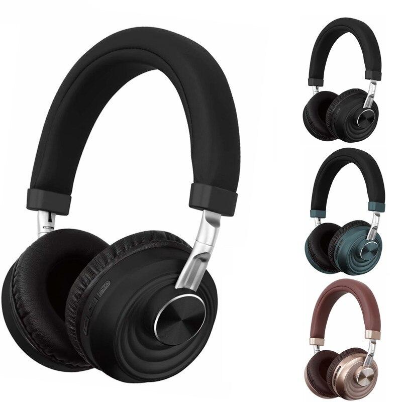Auriculares Bluetooth inalámbricos Bluetooth 5,0 Stereo Gaming Sports Music Headset con micrófono compatible con cancelación de ruido TF
