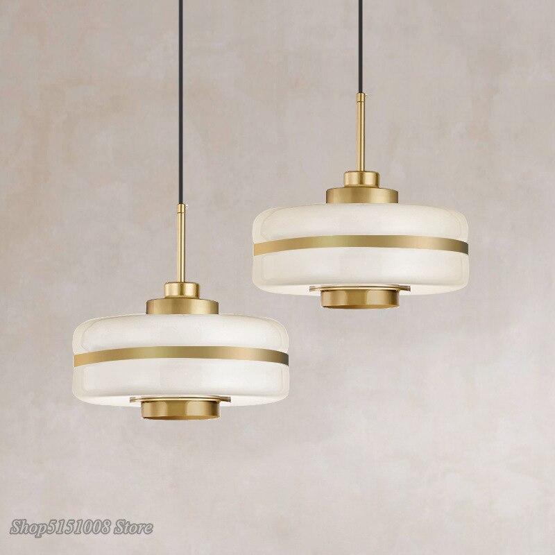مصباح زجاجي معلق Led بتصميم إسكندنافي حديث ، إضاءة داخلية زخرفية ، مثالي للمطبخ أو غرفة المعيشة أو غرفة النوم.