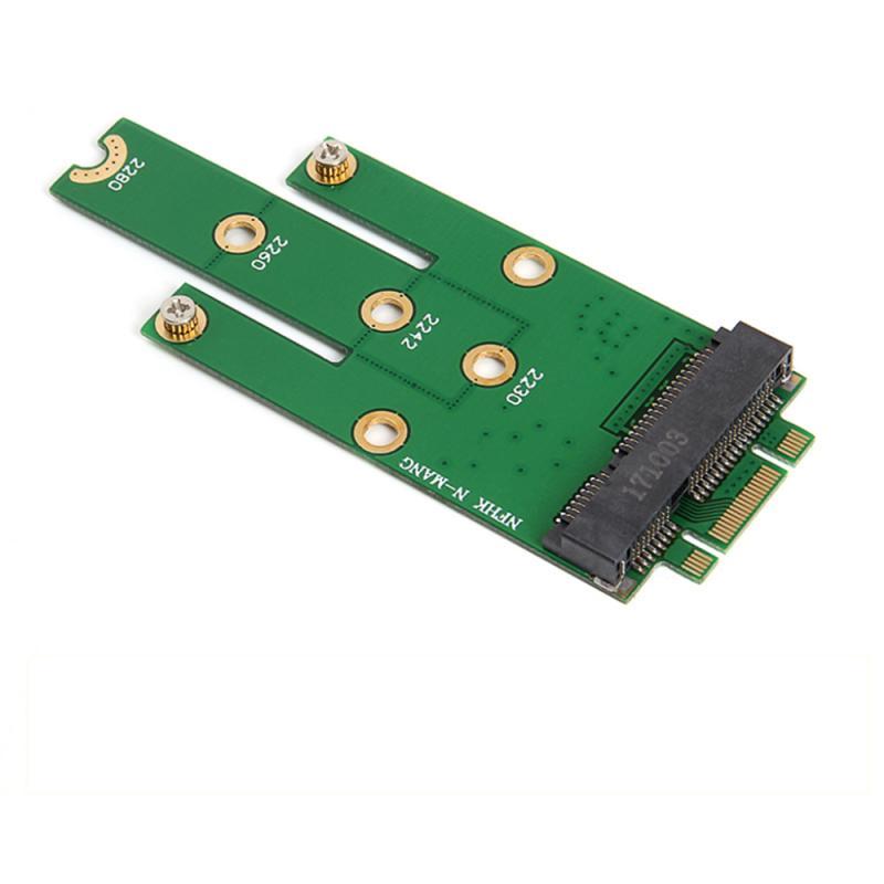 Переходник NGFF M.2 B + M Key к MSATA Mini PCI-E PCI-Express SATA 3,0 SSD, переходная карта для 2242/2260/2280 M2 Ngff SSD, Новинка