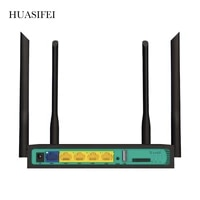 high speed industry cpe with sim card slot and 4pcs external antennas 4g lte wifi wireless router 300mbps