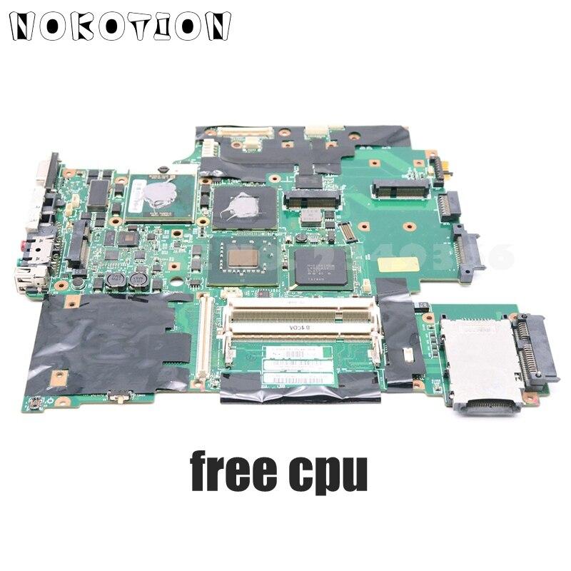 NOKOTION 43Y9047 42W7791 42W7876 44C3928 لينوفو ثينك باد T61 T61P اللوحة المحمول 965PM DDR2 15.4 بوصة مع شحن وحدة المعالجة المركزية