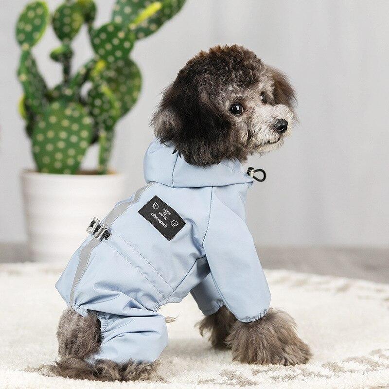 Chaqueta Impermeable para Perro, ropa reflectante, transpirable, absorbente de sudor, para cachorro