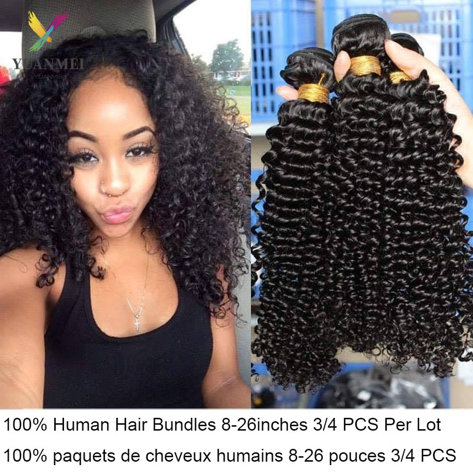 Kinky Curly Hair Bundles Brazilian Hair Weave Bundles Human Hair Bundles Deal Afro Kinky Curly Bundl