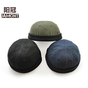 Melon hat new solid master hat retro joker hat youth middle-aged wild watermelon cap G12606