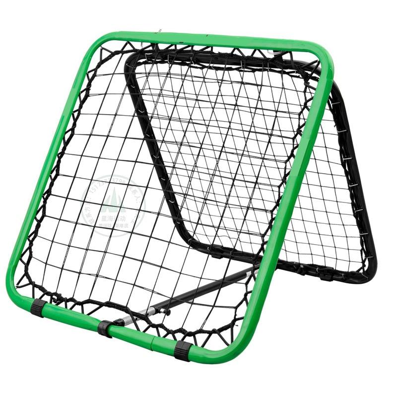 Professional Double Sided Handball Football Rebound Net Rebound Practice Sensitivity Practical Soccer Training Equipment 1M X 1M