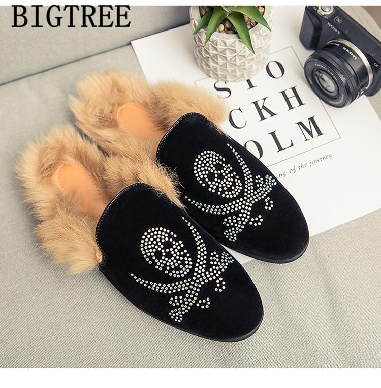 Half Shoes For Men Fur Winter Shoes Men Mules Mens Casual Shoes Hot Sale Mocassin Homme Buty Meskie Erkek Ayakkabi Sapatos