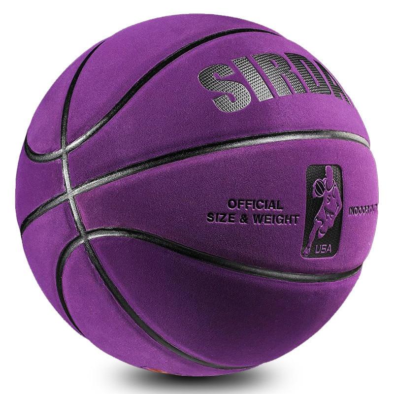 7 Противоскользящий мягкий износостойкий баскетбольный мяч из микрофибры #7 размер, профессиональный водонепроницаемый баскетбольный мяч ...