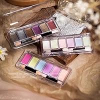 6 color solid magic mirror powder 2021 fairy pigment powder manicure special edge mirror flour