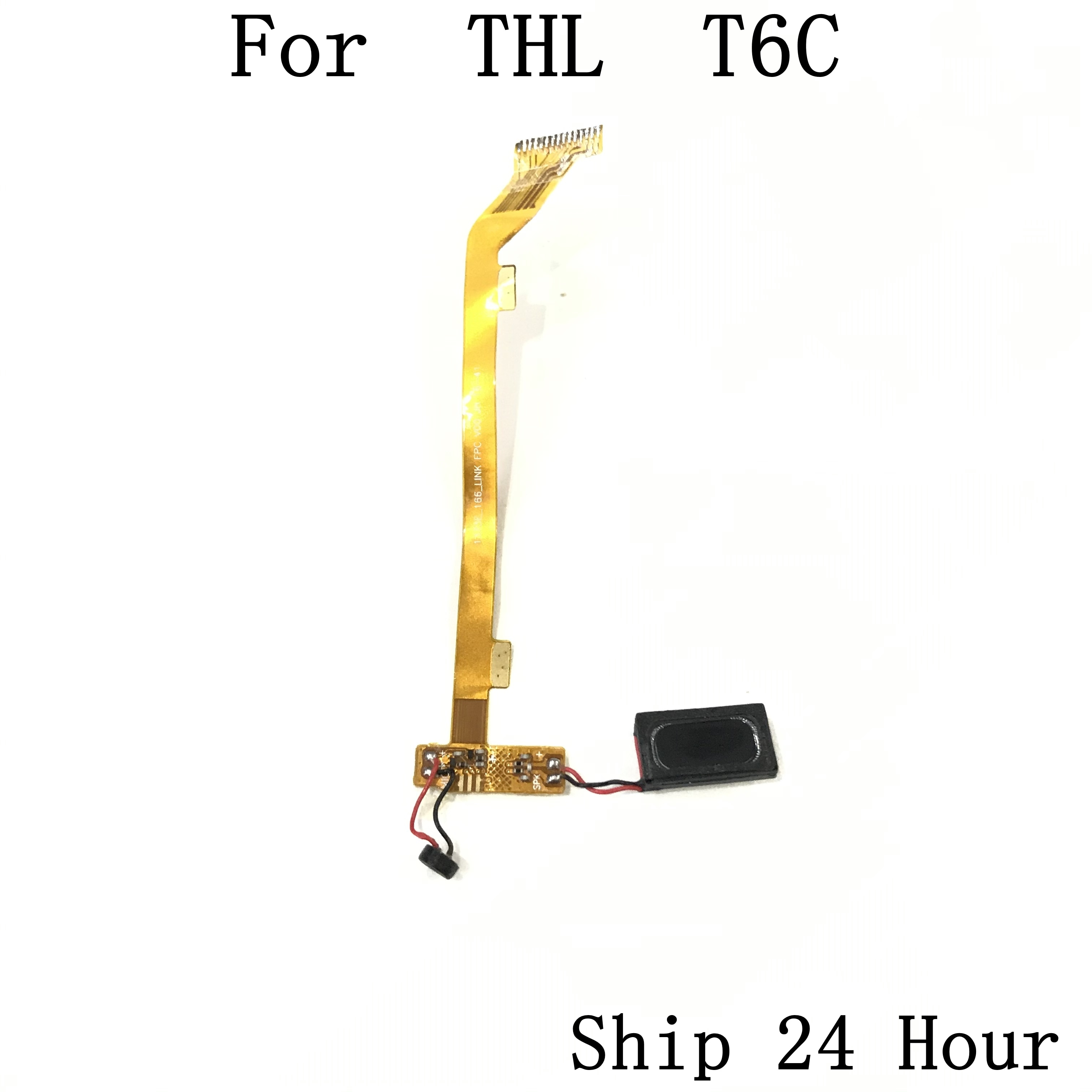 THL T6C Used USB Charge Board to Motherboard FPC+Loud Speaker Buzzer Ringer For THL T6C Repair Fixing Part Replacement enlarge