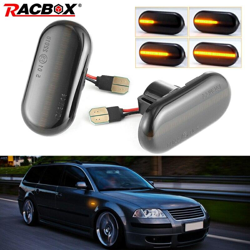 Par de luces Led de indicador lateral dinámico de giro para mercedes-benz para Renault Megane 1 Clio1 2 KANGOO ESPACE Smart Fortwo 453