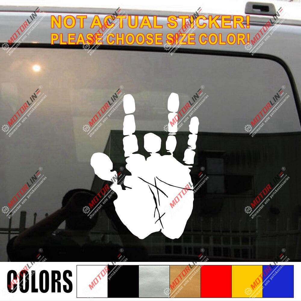 Pegatinas de vinilo para autos que elija tamaño y color no bkgrd troquelado
