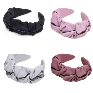 Colorful Lace Headbands For Women Hair Accessories Korea Headband for Girls Hairbands Geometry  Head Wrap