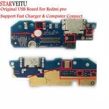 STARVEITU pour Xiaomi Redmi Pro Original USB carte chargeur Circuits partie avec Microphone Support ordinateur connecter chargeur rapide