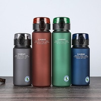 Фирменная Спортивная бутылка для воды защита от утечки, без бпа, высокое качество, походные портативные бутылки для напитков 400 мл 560 мл