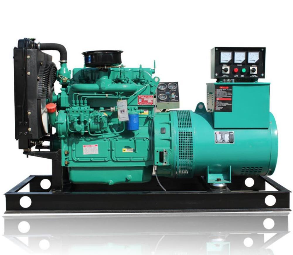 weichai Ricardo 30kw diesel generator with ZH4100D diesel engine and brush alternator/diesel generator for power