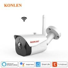 KONLEN WIFI Tuya vie intelligente 1080P HD 2MP caméra IP sécurité extérieure balle sans fil Surveillance Google Home Alexa CCTV vidéo