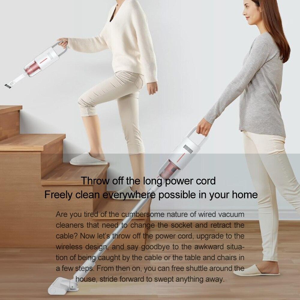 Vacuum Cleaner VC20 Handheld Cordless Stick Aspirator Vacuum Cleaners 8000Pa For Home Floor Car enlarge