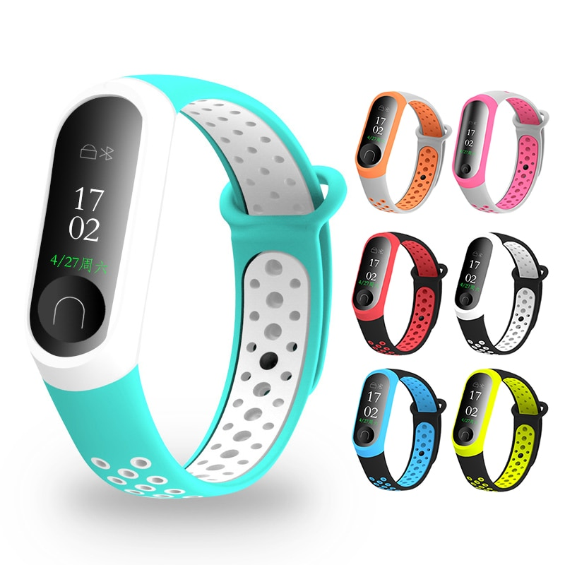 Millet Bracelet 3 Wristband Smart Sports Bracelet Mesh Double Color Fitness Wearable Devices Smart Accessories Pedometers