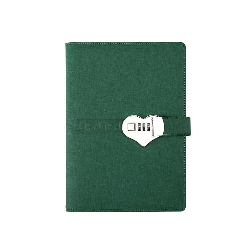 Блокноты и журналы формата А5 для планировщика, спиральные блокноты и журналы с паролем, офисный дневник с замком, товары для бизнеса