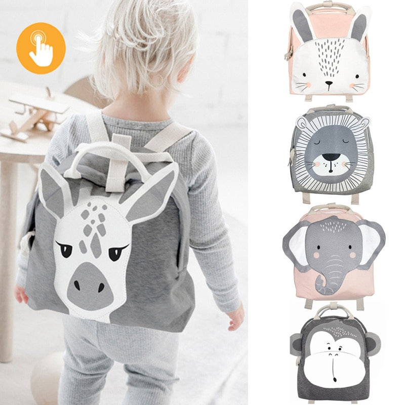 Children Backpack Toddler Kids School Bag Backpack For Baby Kids Cute School bag boy girl light Bag