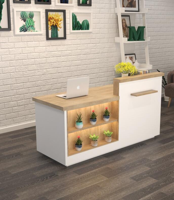 Современный простой Малый магазин кассира, ресторан, десертный магазин, бар, одежда, магазин молока, чая, прилавок компании, вход за столом