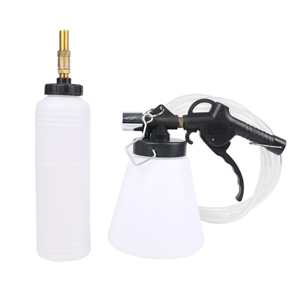 Car Brake Fluid Bleeder, Universal Pneumatic Trucks Brake Fluid Changer Bleeding Tool Kit Oil Changer Extractor Replacement