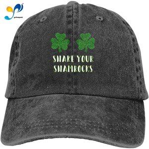 Shake Your Shamrocks Vintage Dad Baseball Caps Adjustable Men Sun Hat