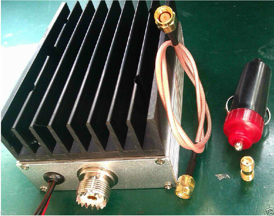 Усилитель мощности UHF Ham для автомобильного радио, 400-470 МГц, 25 Вт
