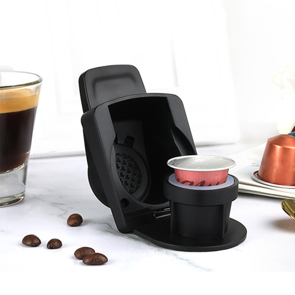 Capsule Adapter for Nespresso Coffee Capsule Convert Compatible with Dolce Gusto Reusable Coffee Machine Accessories