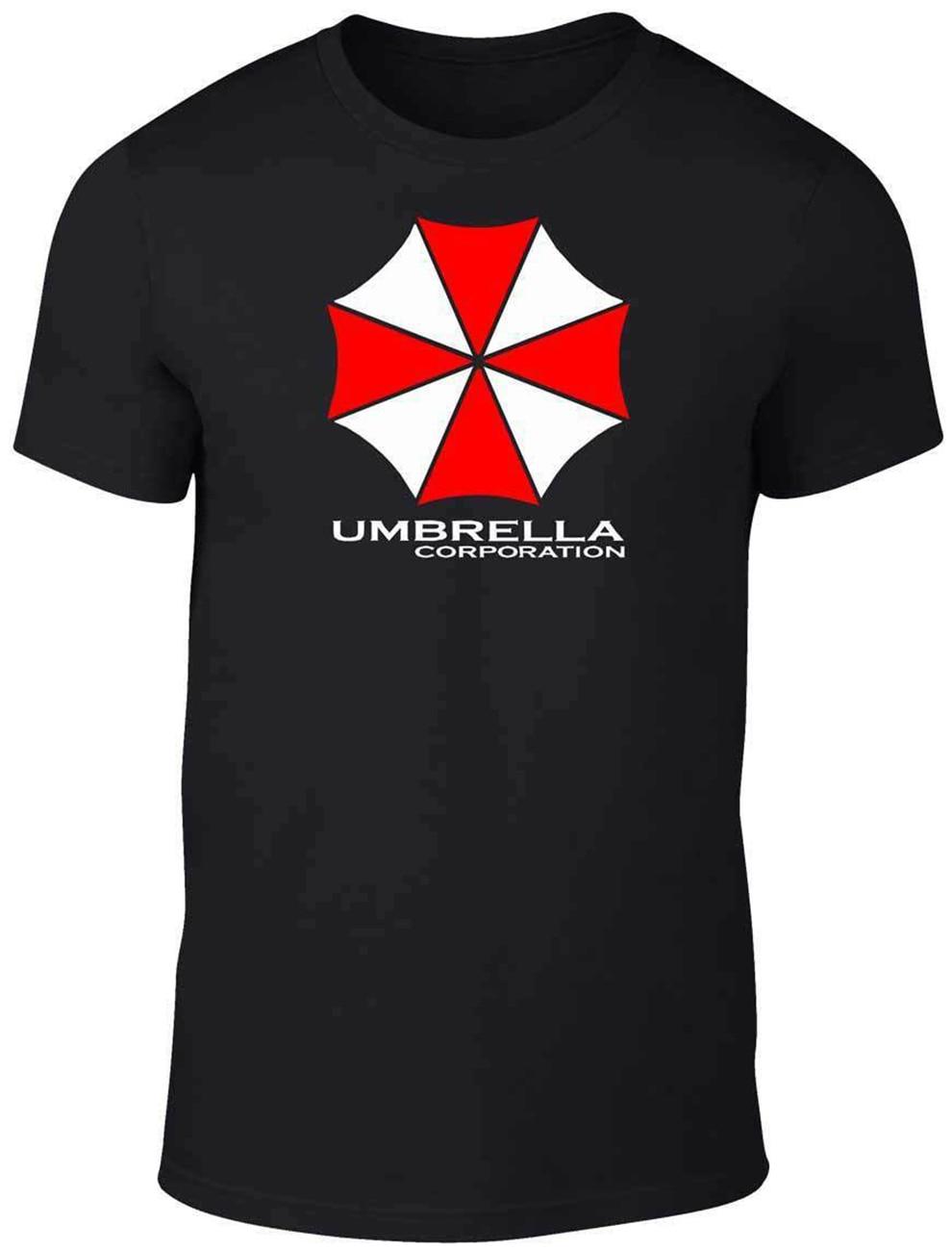 Camiseta paraguas corporación para hombre-regalo Horror zombi Sc-Fi película Top envío gratis camiseta ligera
