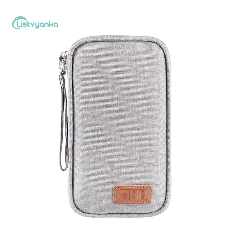 Cable Organizer Bag Travel Organizer Power Bank Case Gadget Headphone Charger Wire Electronic Access