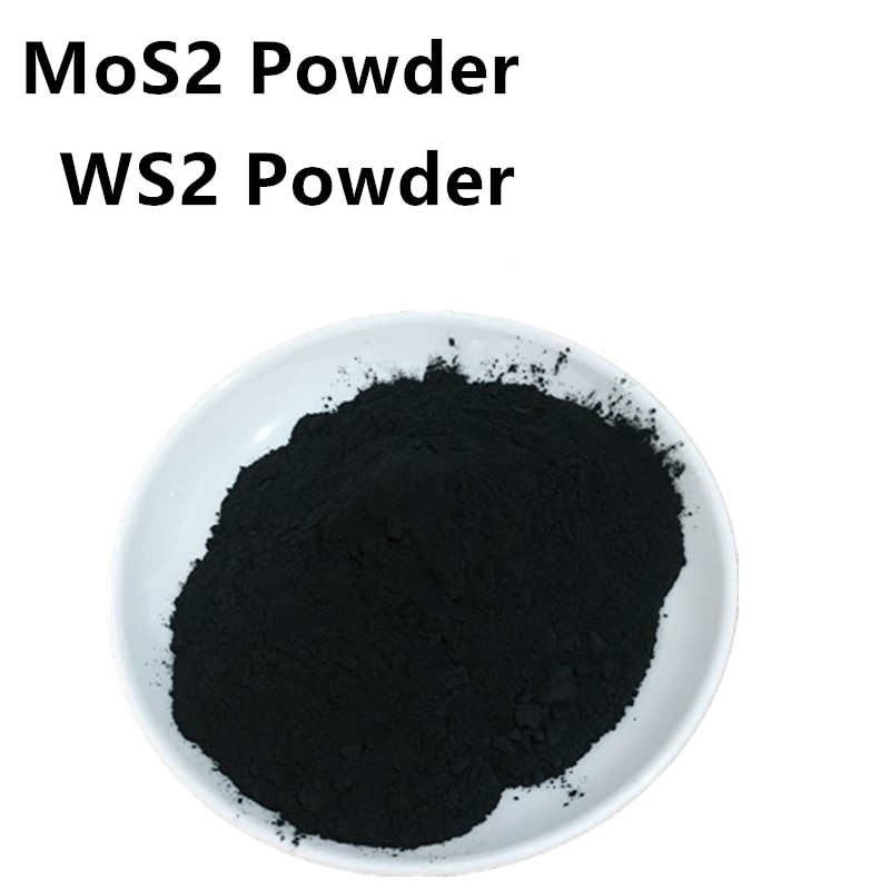 tungsten disulfide / molybdenum disulfide / tungsten disulfide powder / 100 Gram WS2 MoS2 High Purity Powder Lubricant 99.9% mos2 high purity powder 99 9