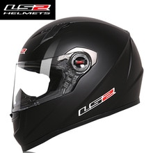 Casque de moto rmoto authentique   LS2 FF358, casque complet de course pour hommes et femmes, cascos para moto ECE 100%