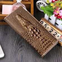 Women Women's Wallet Female Genuine Leather Wallet Brand Phone Carteira Long Hasp Clutch Bags Trifold Coin Purse Card Holder 163