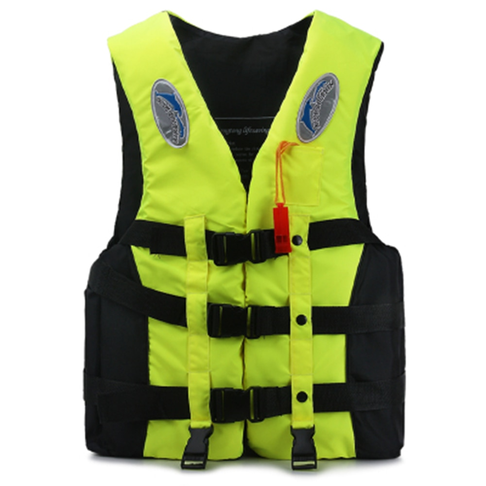 Water Sports Swimming Boating Ski Drifting Life Vest with Whistle S-XXXL Sizes Man kids Jacket Outdoor Safety Adult Life Vest недорого