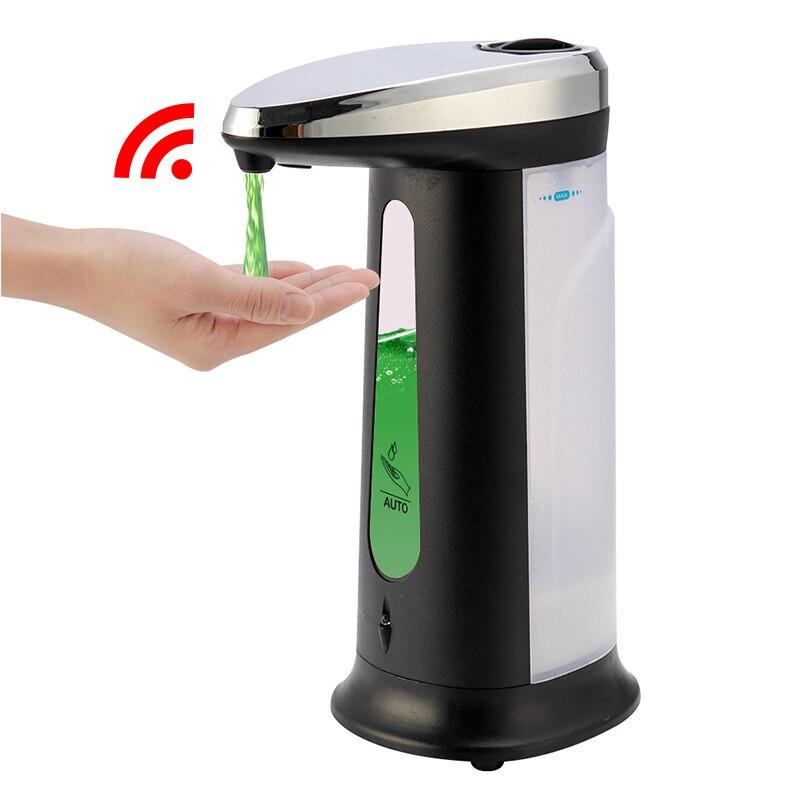 400 مللي موزع الصابون السائل التلقائي الذكية صابون الاستشعار موزع اللمس ABS الصابون موزع للحمام المطبخ