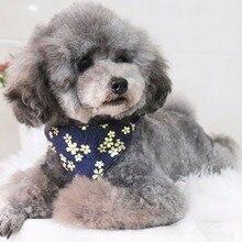 Pet Dog Bandanas With Adjustable Strap Adjustable Strap Soft Comfortable Saliva Towel Holiday Pet Ca