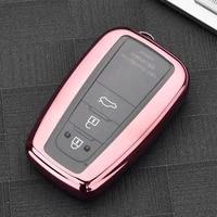 tpu car key fob cover case for toyota chr c hr camry prius prado 2016 2018 2 3 buttons remote keyless
