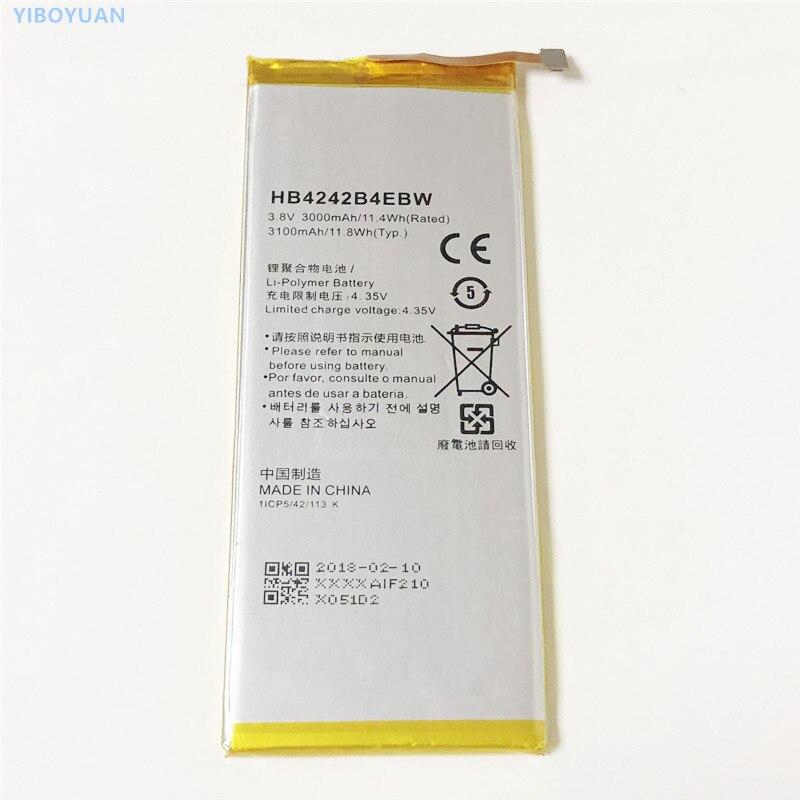 "3,8 V 3000mAh HB4242B4EBW para Huawei Honor 7i 5,2 ""ATH-UL01 ATH-UL06 ATH-AL00 ATH-CL00 ATH-UL00 ATH-TL00 ATH-TL00H batería"