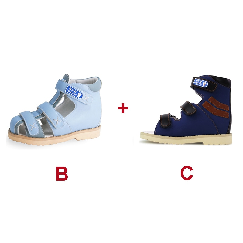 Baby Kids Boys Summer Spring Leather School Uniform Casual Shoes Fashion Stylish Luxury Orthopedic Sandal For Toddlers Children enlarge