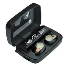TWS Bluetooth Earphones Touch Control Wireless Headphones with Mic Sports Waterproof Wireless Earbud